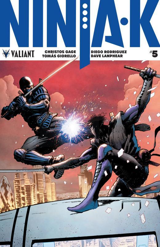 Ninja-K #1-14 (2017-2018)