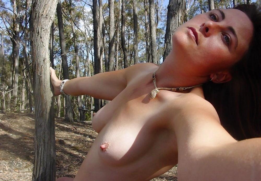 Naked girl taking selfie-8691