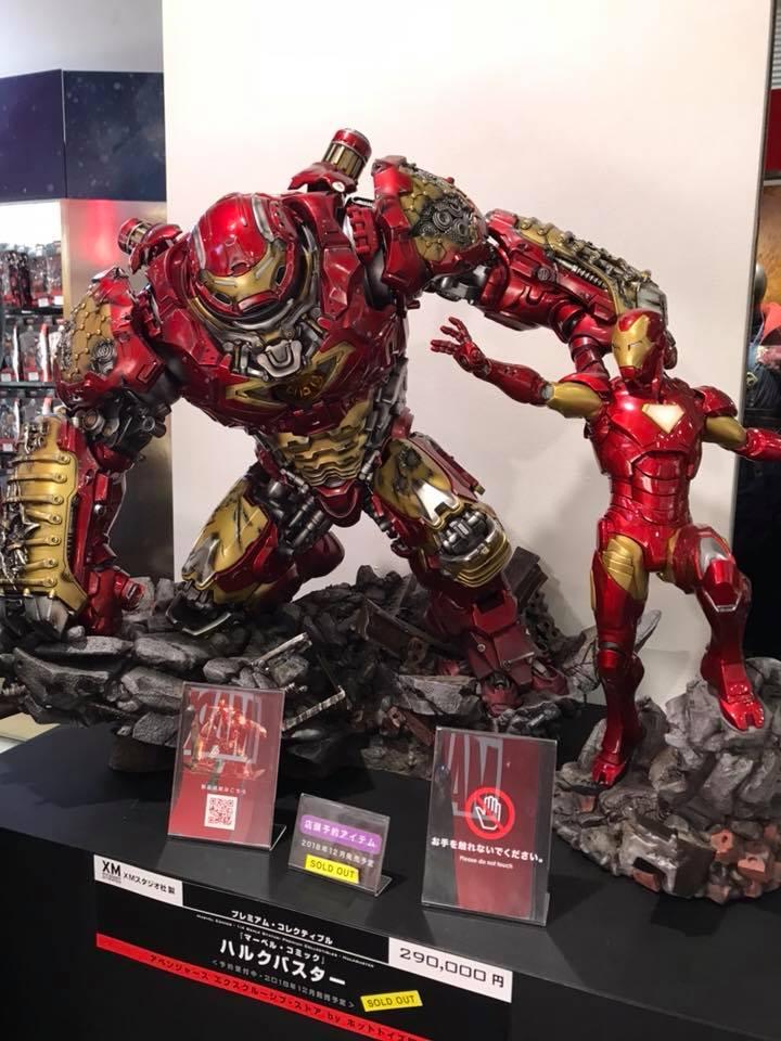 Avengers : Age of Ultron - HulkBuster Premium Collective 1/4 Statue (Hot Toys) M6e6QMlA_o