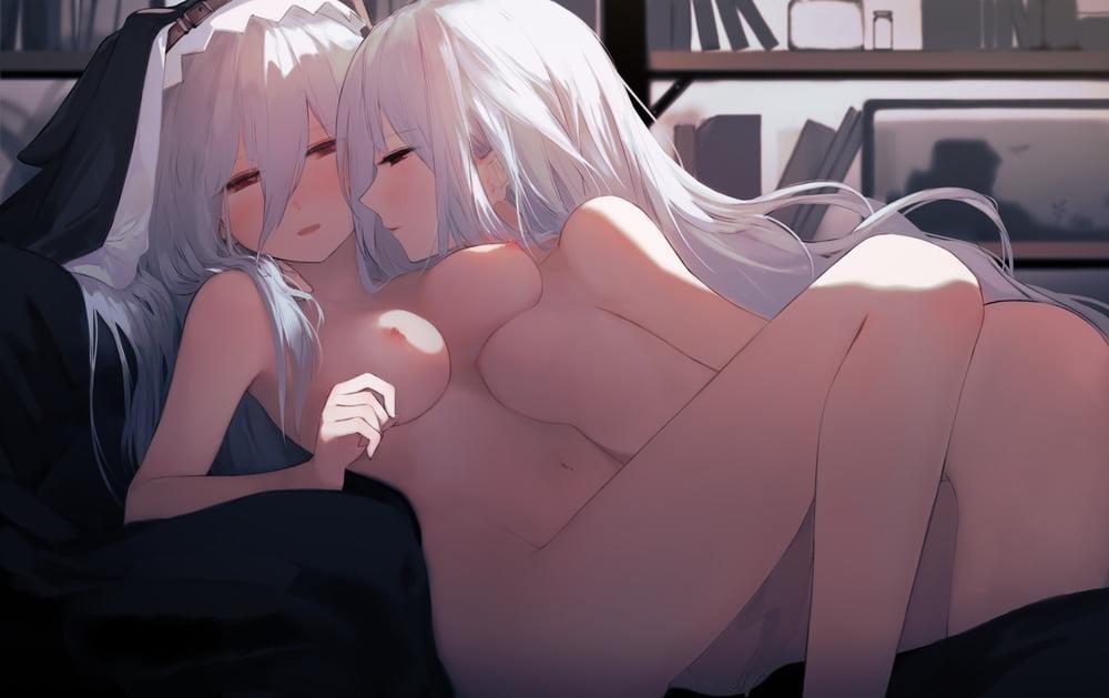 Hentai yuri orgy-2281