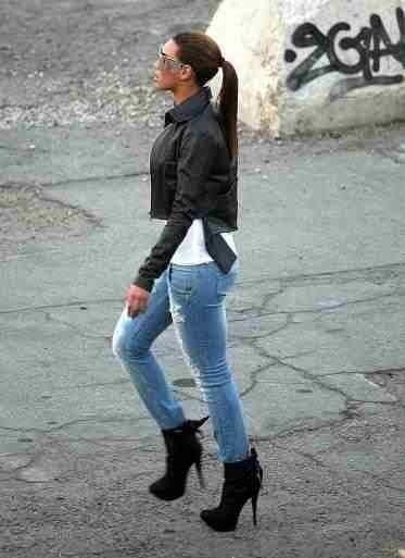 Divided jean jacket-3687