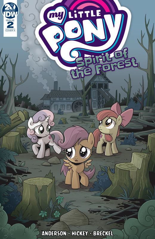 My Little Pony - Spirit of the Forest #1-3 (2019) Complete