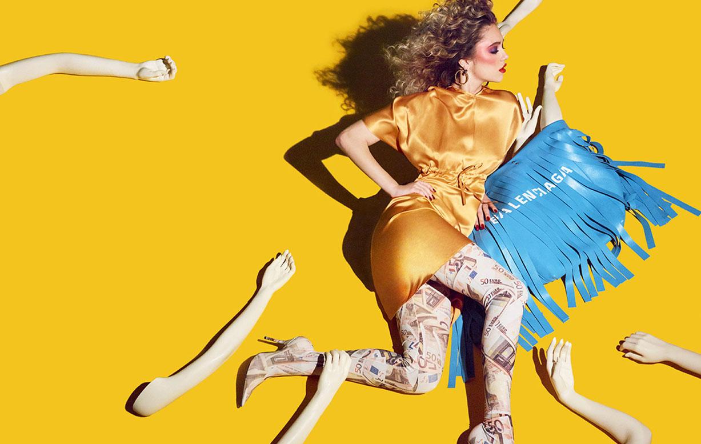 Делайла Белле и модные манекены, фотограф Энрике Вега / фото 02