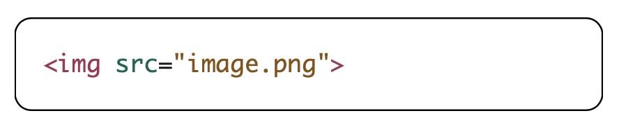 image element code example
