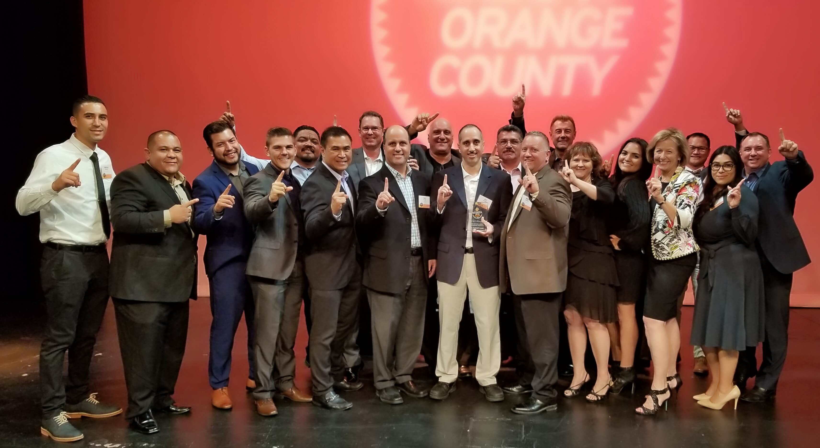 "Mr. Cabinet Care Awarded Orange County Register's  2020 ""Best Kitchen & Bath Company"""