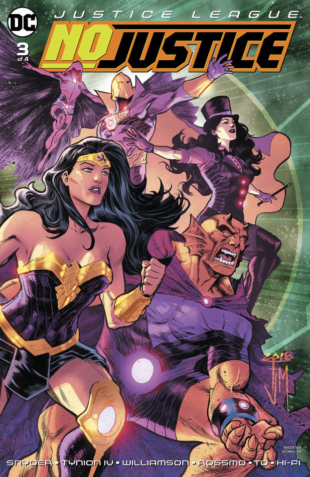 Justice League - No Justice #1-4 (2018) Complete
