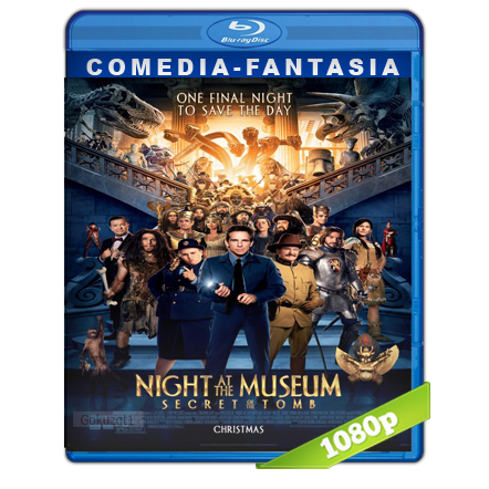 Una Noche En El Museo 3 (2014) BRRip Full 1080p Audio Trial Latino-Castellano-Ingles 5.1