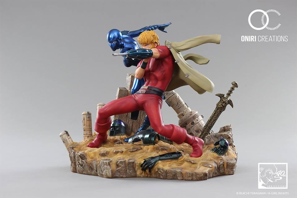 Cobra Space Adventure - 40th Anniversary - Statue Résine (Oniri Créations) WJ6nU95L_o