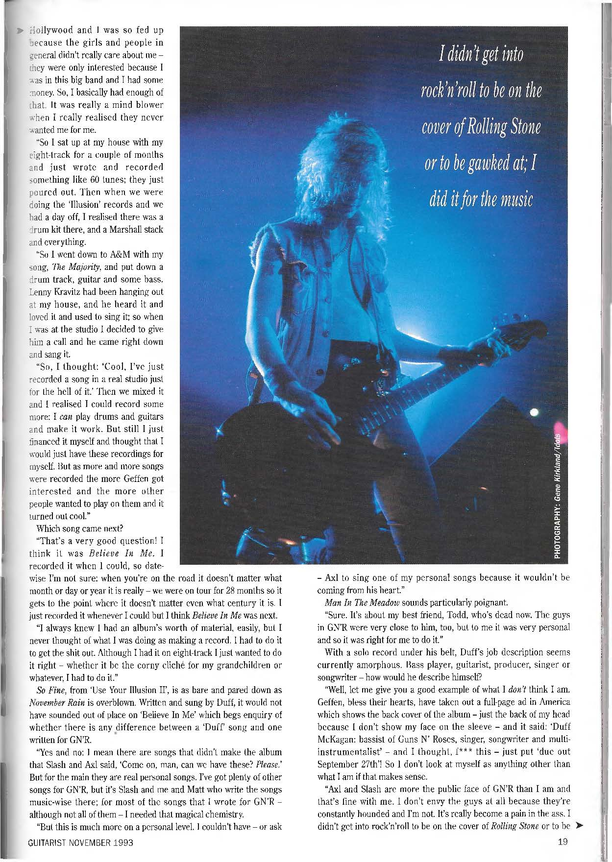 1993.11.DD - Guitarist Magazine - Loose Cannon (Duff) PUsf4OR1_o
