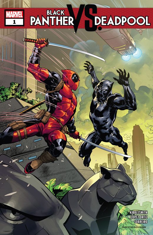 Black Panther vs. Deadpool #1-5 (2018-2019) Complete