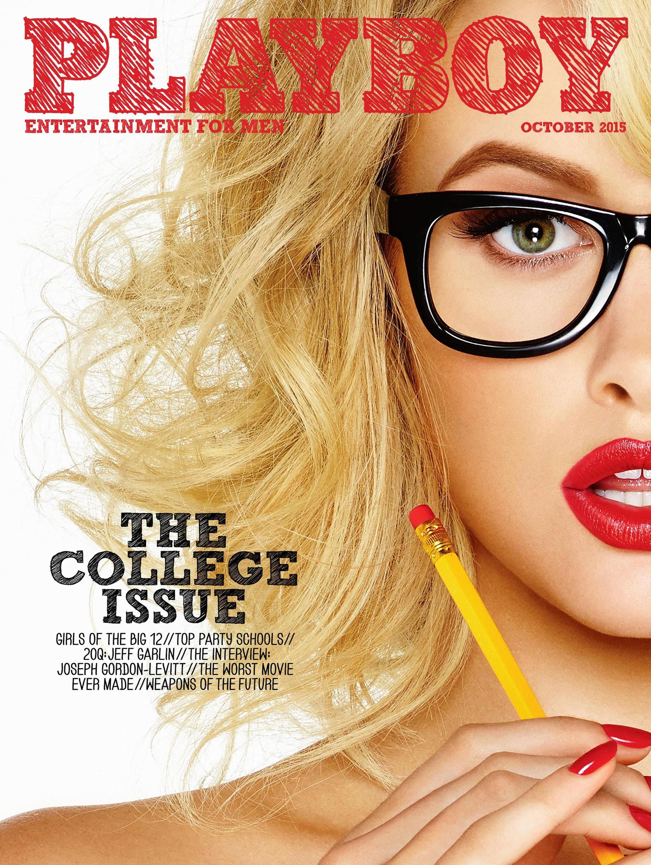 Голые американские студентки в журнале Playboy / фото 23