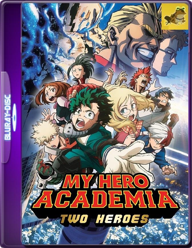 My Hero Academia: Two Heroes (2018) Brrip 1080p (60 FPS) Japonés Subtitulado