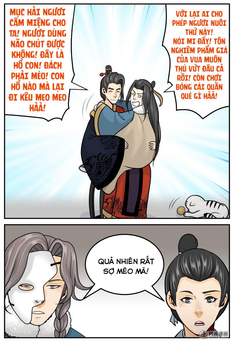 Hoàng Thượng Pê-đê - Hãy Tránh Xa Ta Ra Chap 266 . Next Chap 267