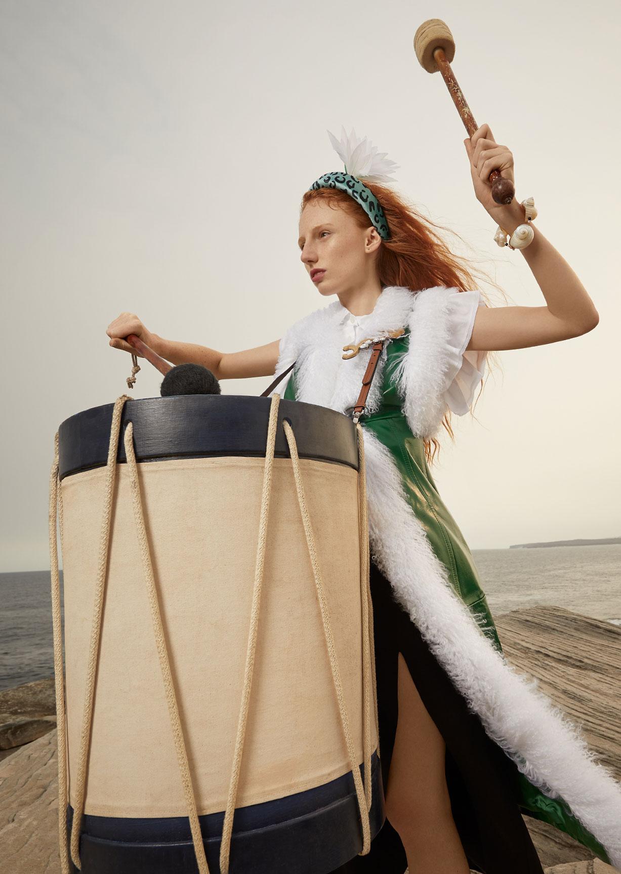 Модный маскарад в журнале Grazia / фото 13