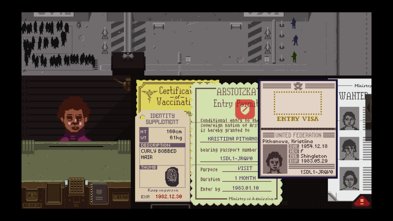 Papers, Please Captura 1