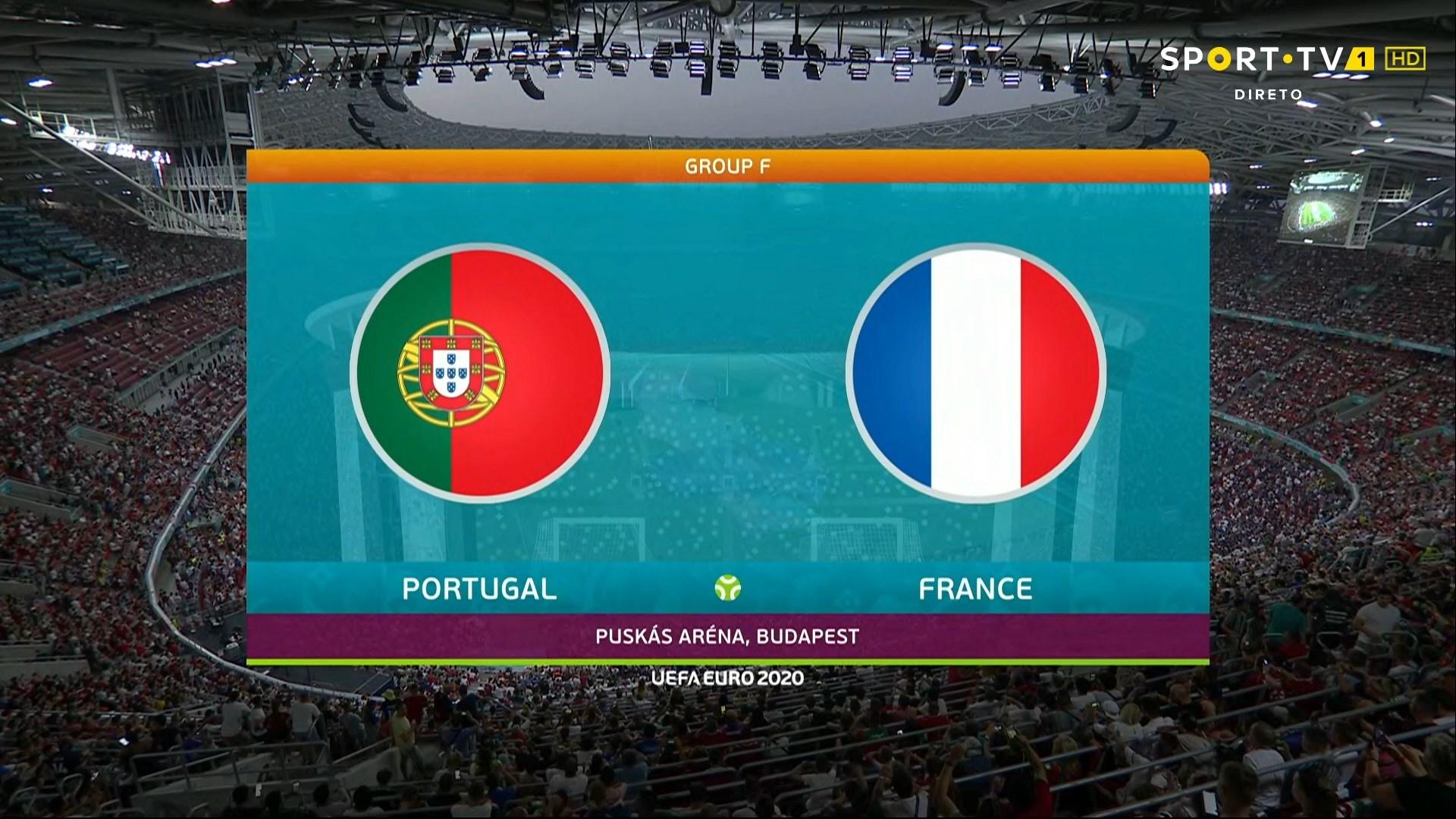 Full match: Portugal vs France