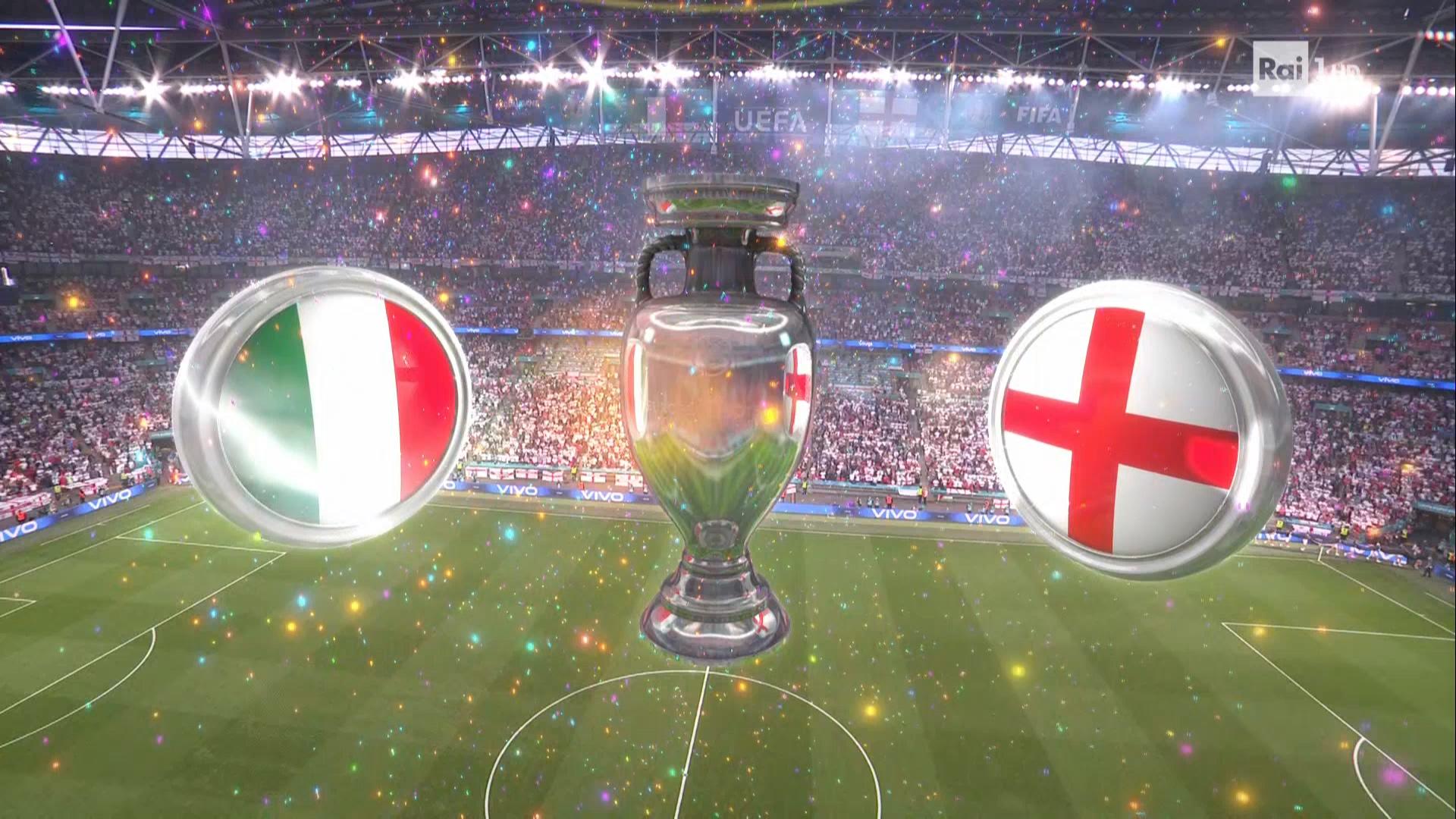 Full match: Italy vs England