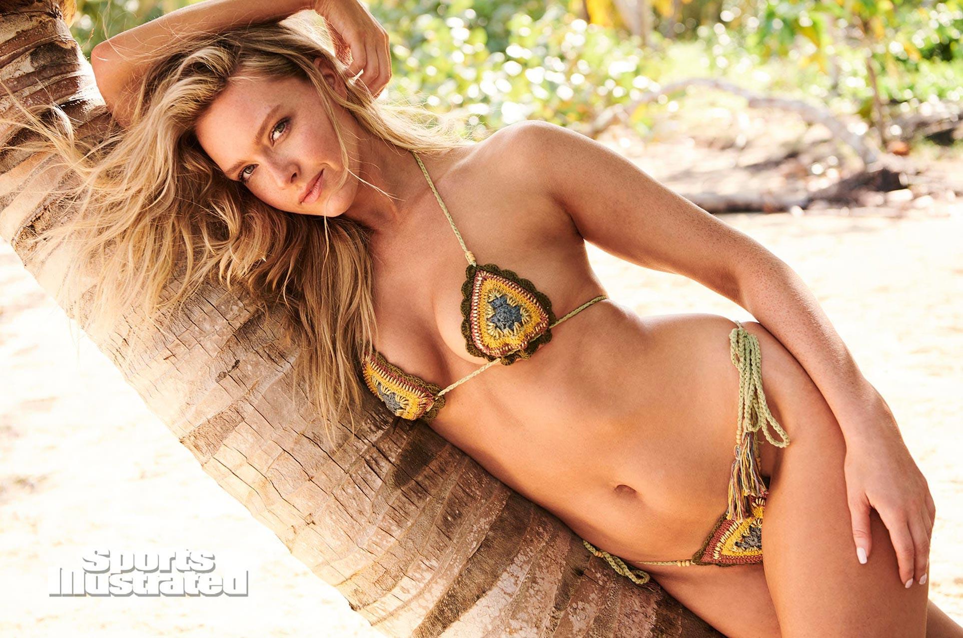 Камилла Костек в каталоге купальников Sports Illustrated Swimsuit 2020 / фото 20