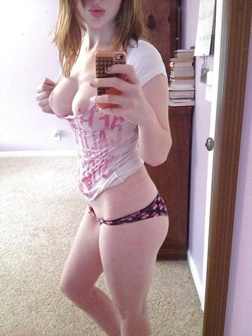 Teen amateur selfie nude-4996