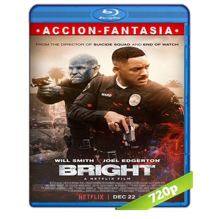 descargar Bright 720p Lat-Cast-Ing[Fantasia](2017) gratis