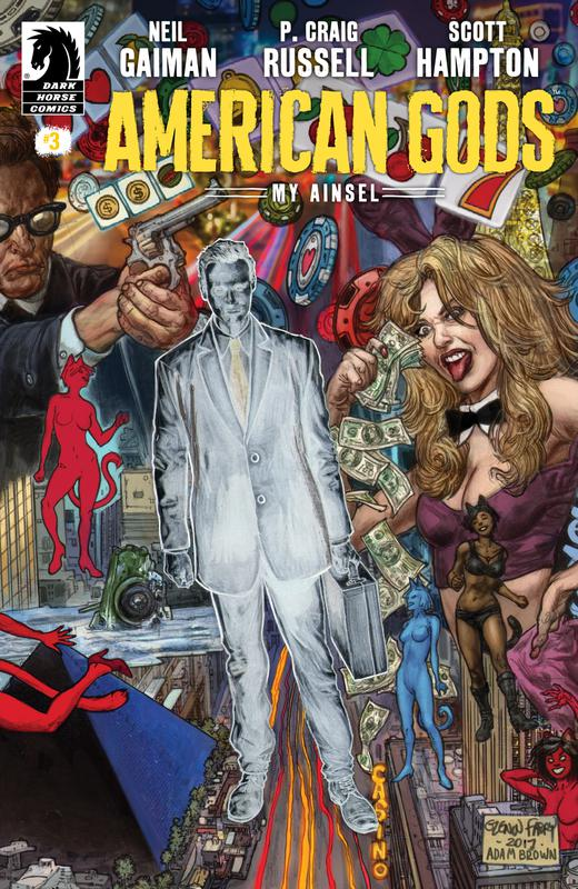 American Gods - My Ainsel #1-9 (2018) Complete