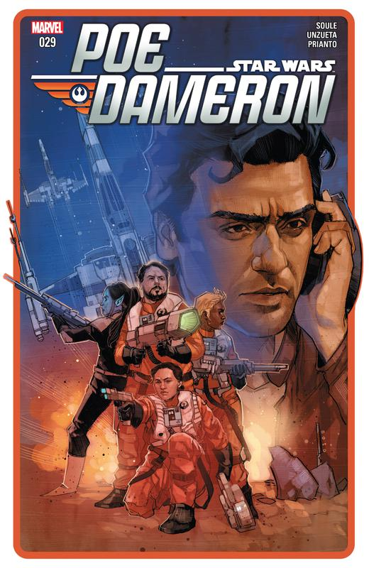 Star Wars - Poe Dameron #1-31 + Annuals (2016-2018) Complete