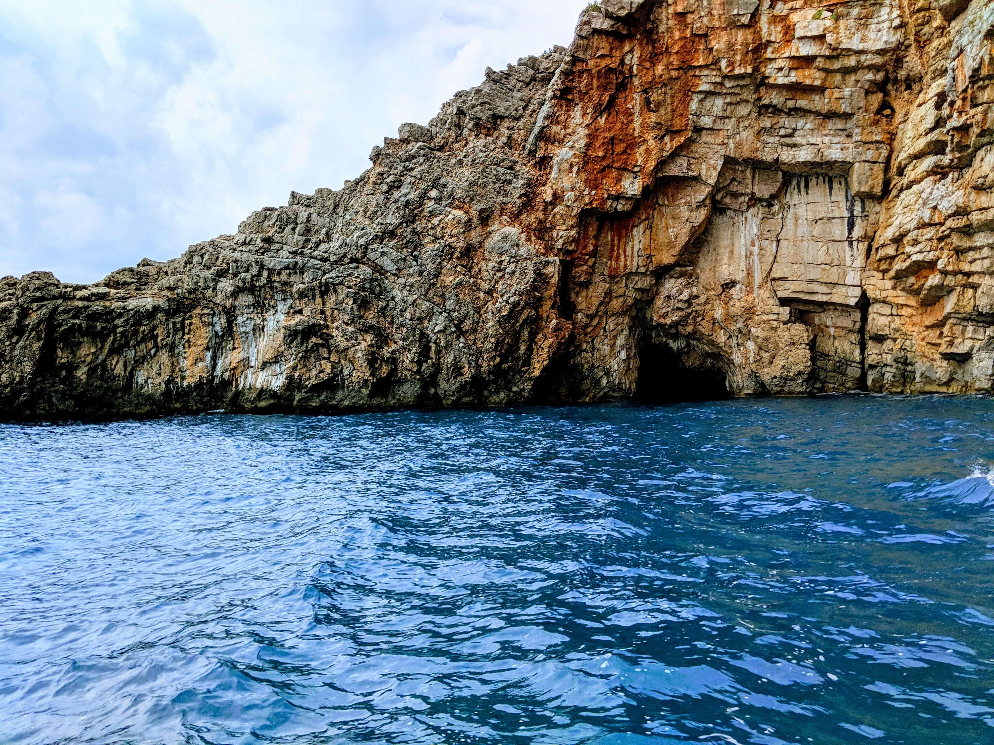 Blue Sea Caves