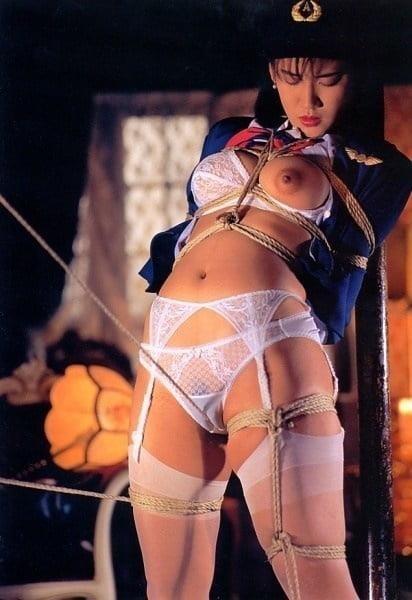 Rope bondage girl-4542
