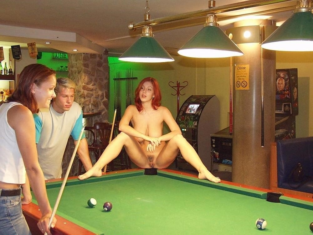 Wife nude at bar-3429