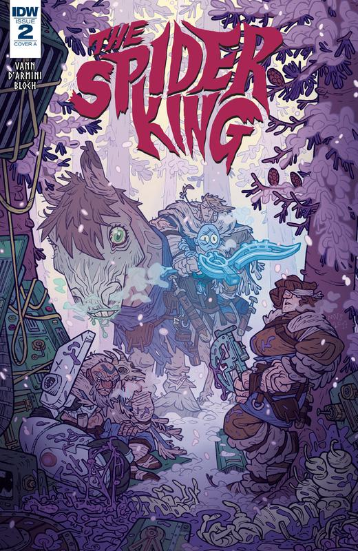 The Spider King #1-4 + Frostbite (2018-2019) Complete