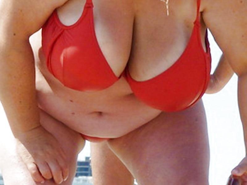 Nude big boobs on beach-3377
