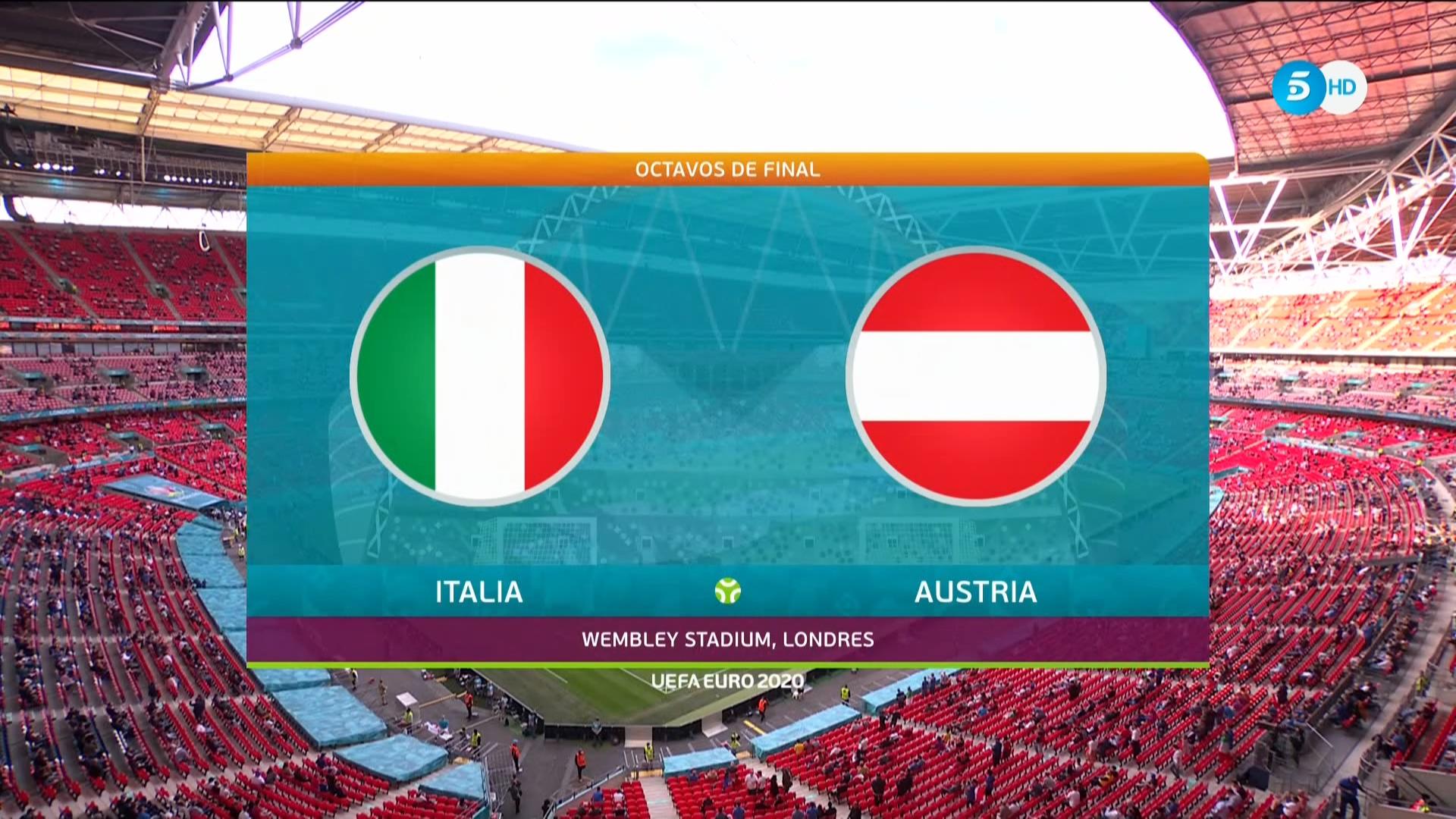 Full match: Italy vs Austria