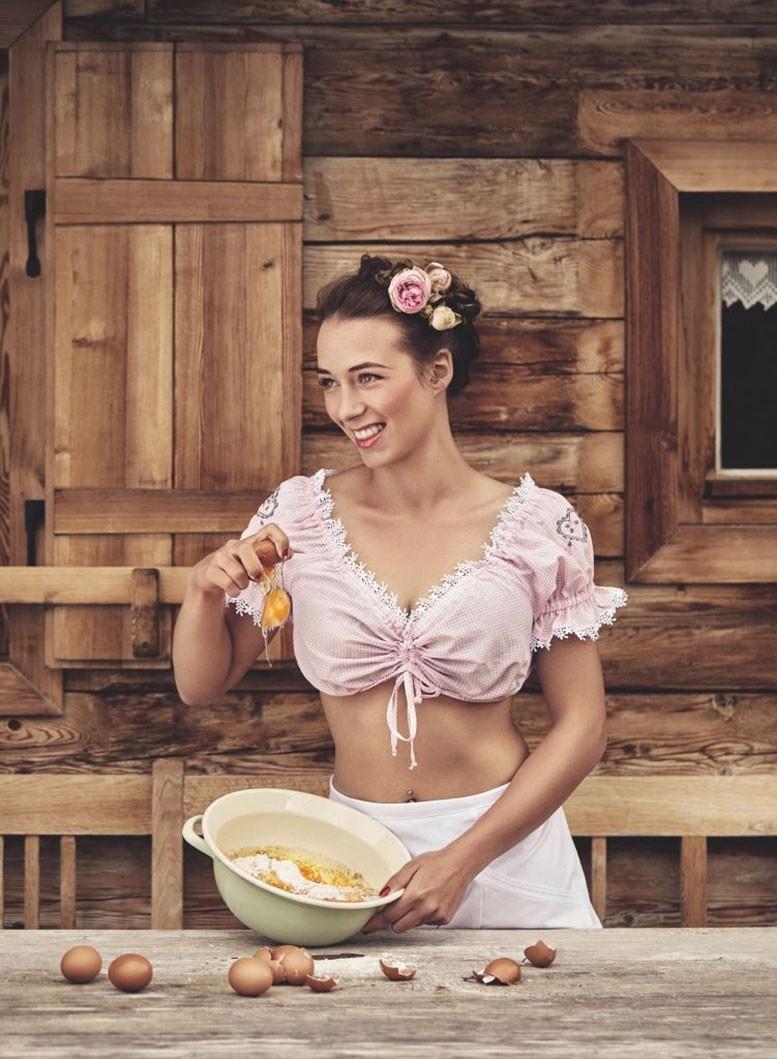 Календарь юного фермера на 2018 год - австрийская и баварская версии / jungbauern kalender girls 2018