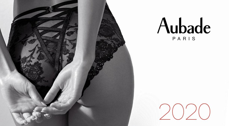 Календарь люксового нижнего белья Aubade на 2020 год / обложка