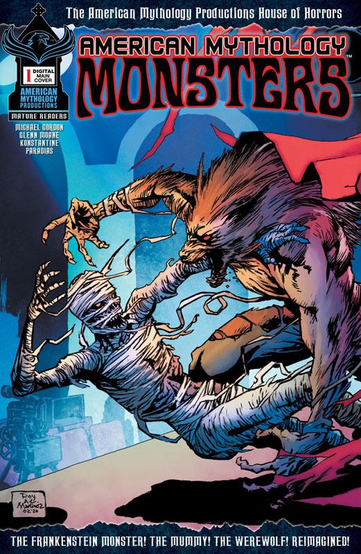 American Mythology Monsters 001 (2020)