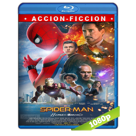 Spider-Man De Regreso A Casa 1080p Lat-Cast-Ing 5.1 (2017)