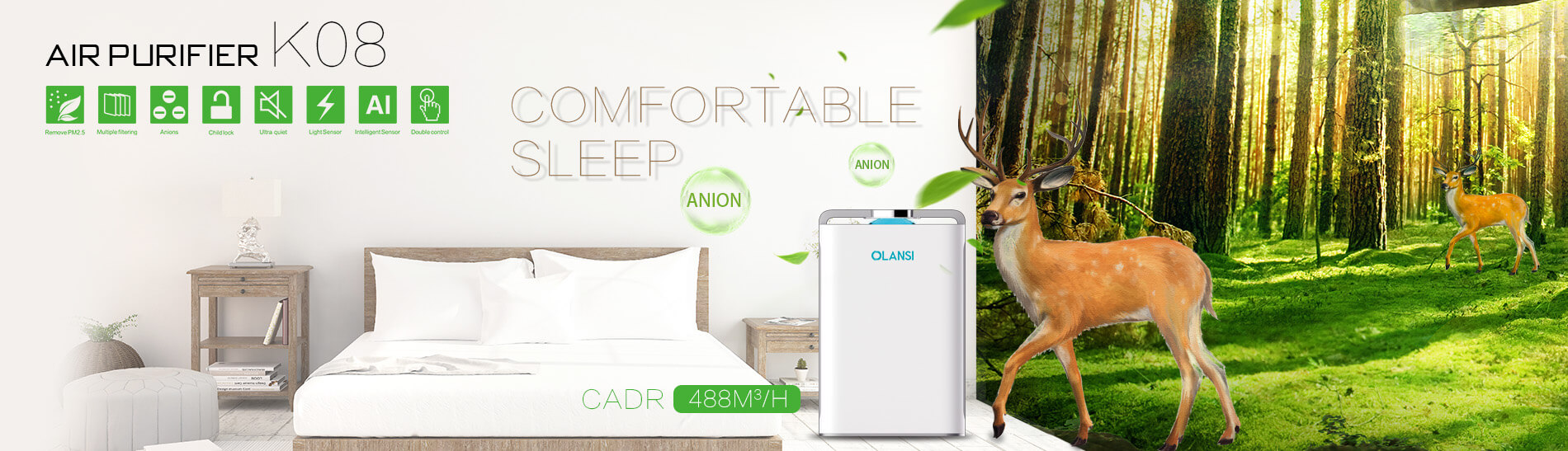 Olansi Healthcare Co., Ltd Introduces Smart Air Purifiers That Help People Save Money and Improve Their Health in this Outbreak of the Corona Virus
