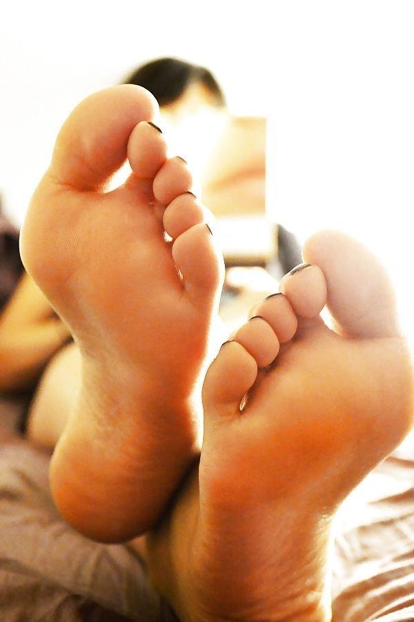 Asian feet footjob-2821
