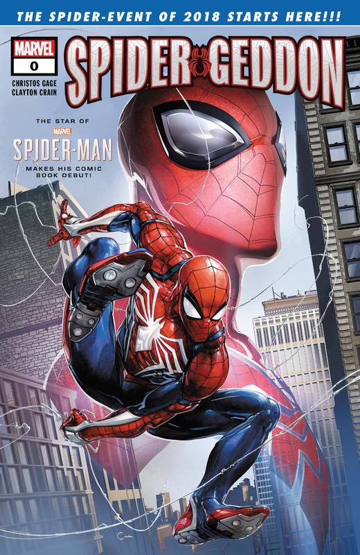 Spider-Geddon #0-5 + Handbook (2018-2019) Complete