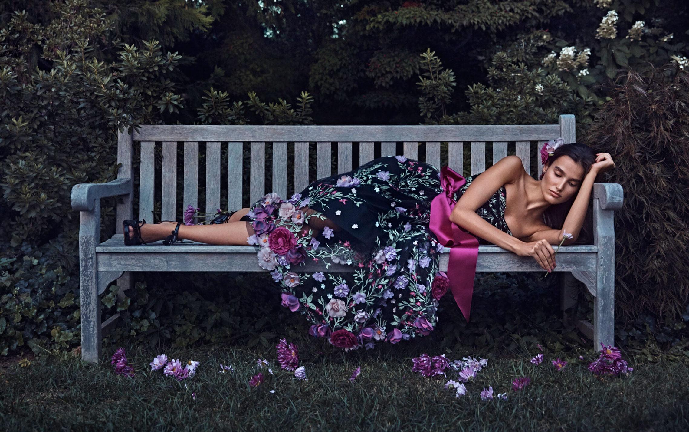 Коллекция модной одежды Marchesa, сезон весна-лето 2020 / фото 01
