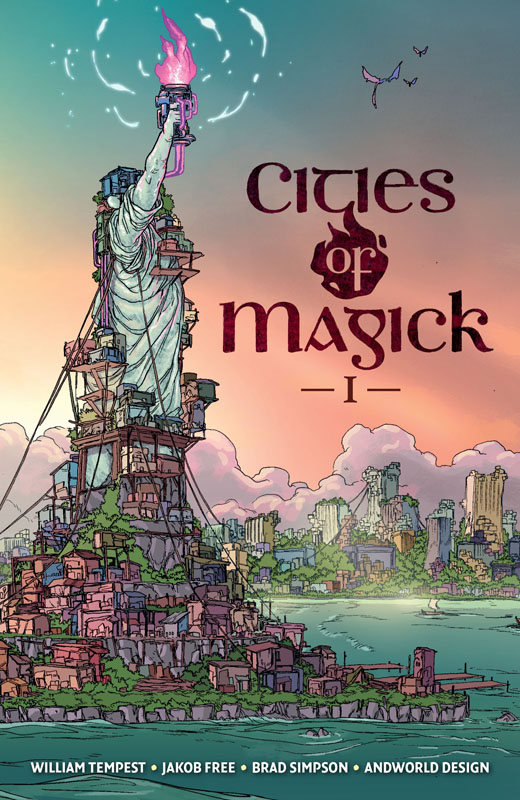 Cities of Magick 001 (2019)