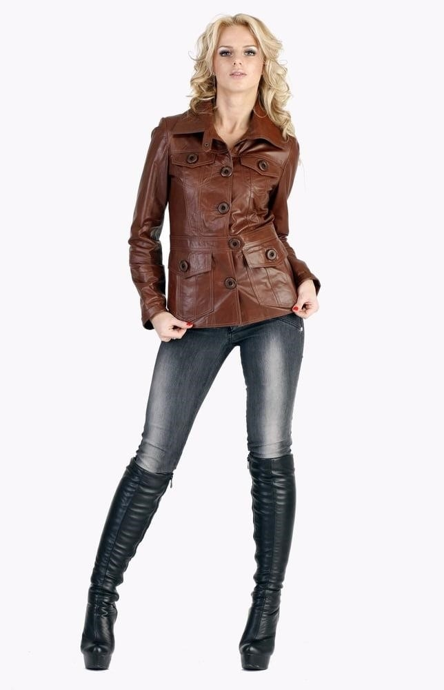 Divided jean jacket-7898