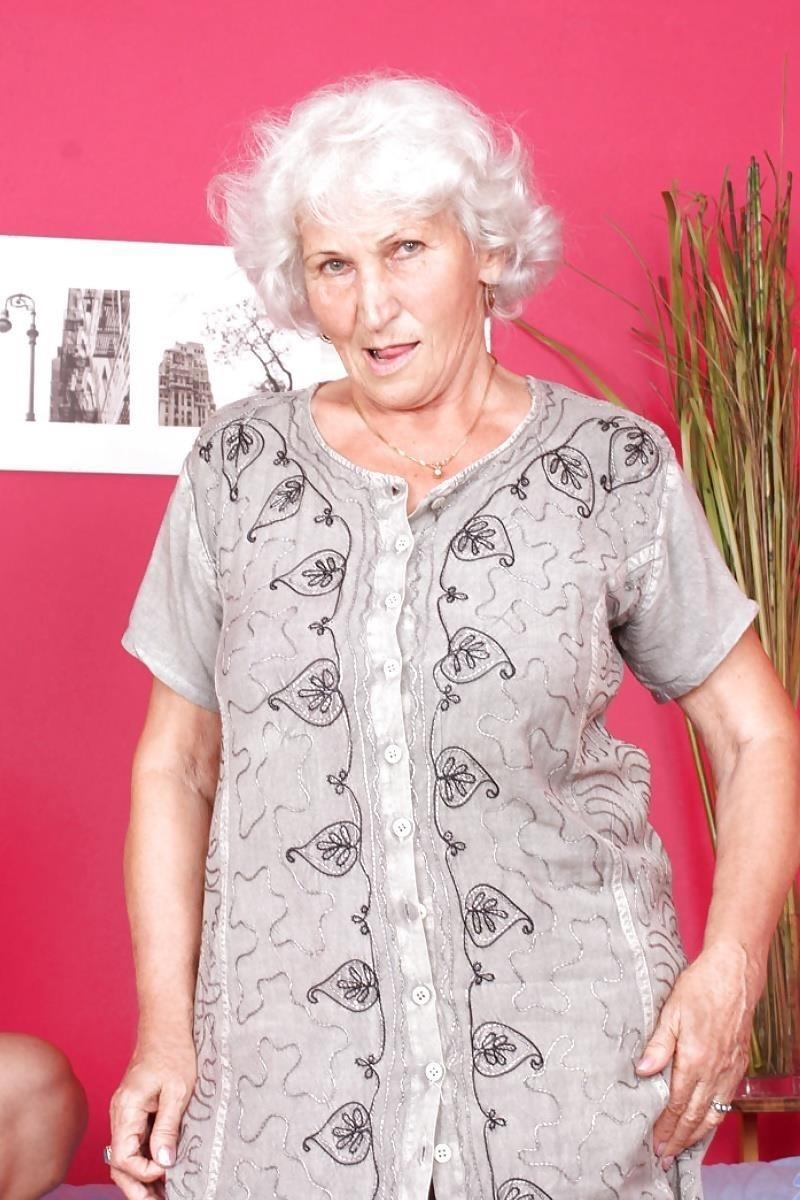 Teen and granny lesbian-3487