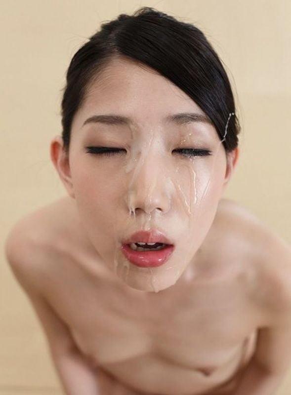 Pretty girl bukkake-7404