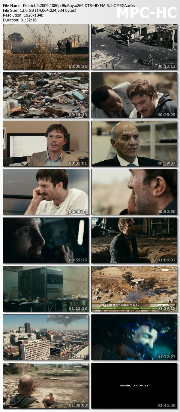 District 9 2009 1080p BluRay x264 DTS-HD MA 5 1-OMEGA