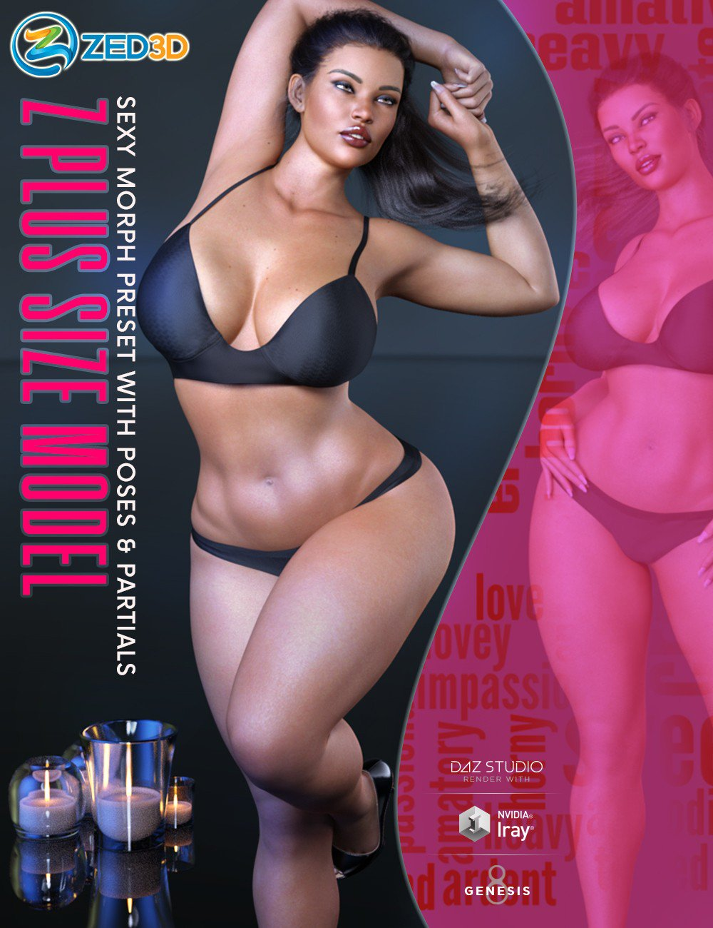 Z Plus Size Model Shape Preset and