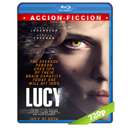 Lucy (2014) BRRip 720p Audio Trial Latino-Castellano-Ingles 5.1
