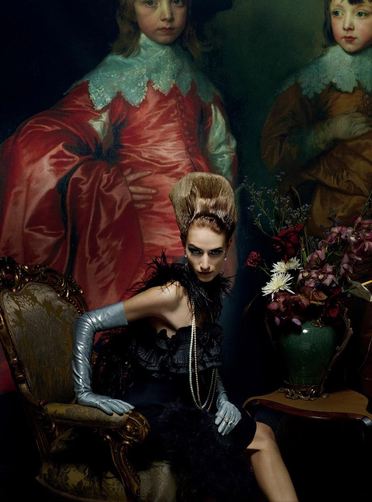 Joie de Vivre by Mert Alas and Marcus Piggott / Vogue UK march 2019