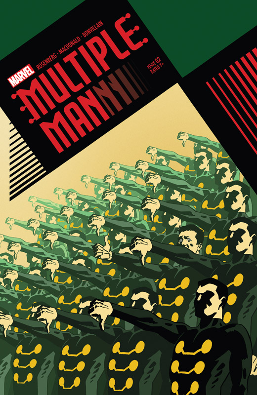 Multiple Man #1-5 (2018) Complete