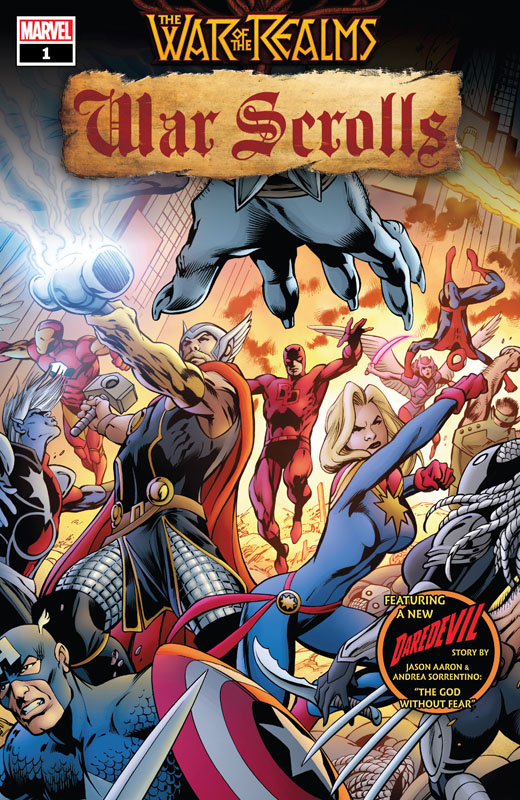 War of the Realms - War Scrolls #1-3 (2019) Complete